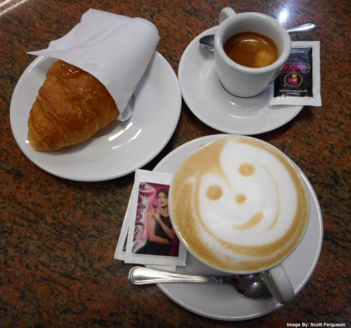 Milan coffee
